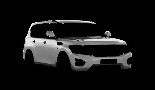 Цвета кузова Patrol